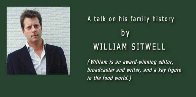 William Sitwell talks about his family history